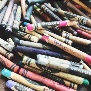 Vintage Crayola Crayons Binney & Smith Co New York